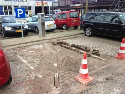 oplaadpunten elektrische auto's in Delft