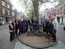 Opening ROde Loper Nieuwe Langendijk, Delft