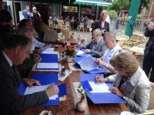 Belangenverenigingen ondertekenen convenant horecaoverlast