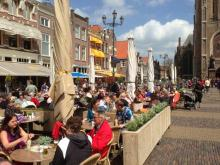 horeca- en terrassenbeleid in Delft