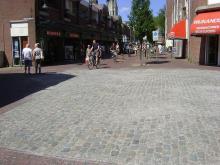 kasseien Kruisstraat Pijnepoort Delft
